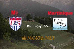 Dự đoán soi kèo Mỹ vs Martinique
